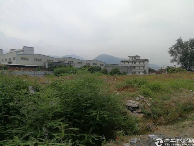 仲恺高新区潼湖镇占地14000平土地出售