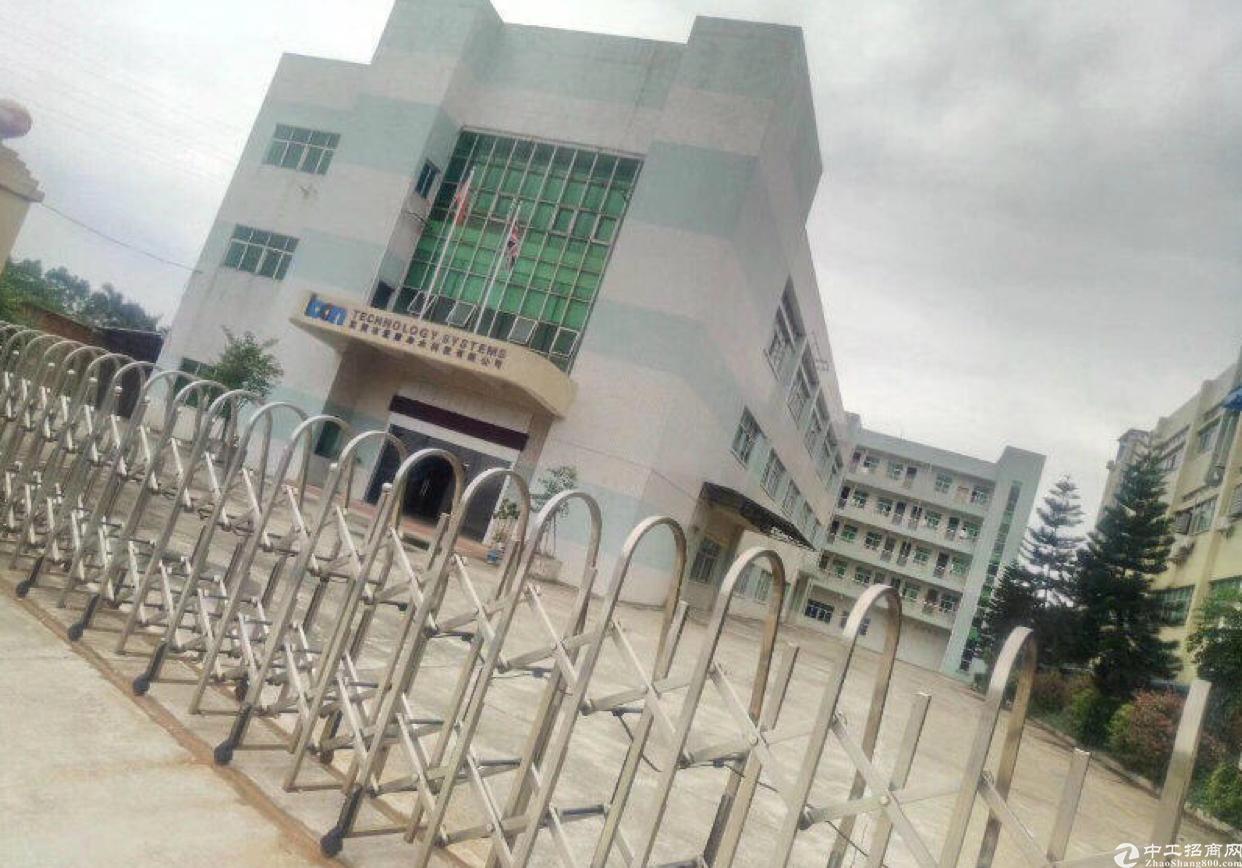 惠州博罗博深高速龙溪出口处国有双证厂房出售