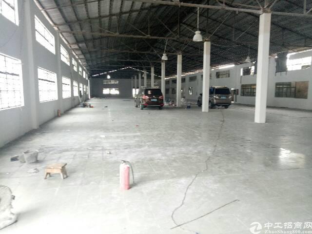 虎门镇原房东全新单一层厂房3100平方出租可办环评