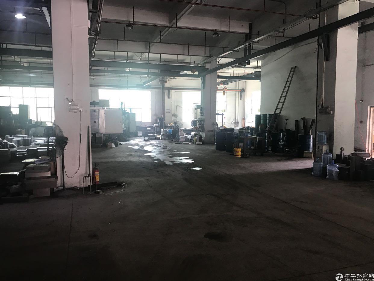惠阳秋长黄氏工业园一楼1500平标准厂房带行车