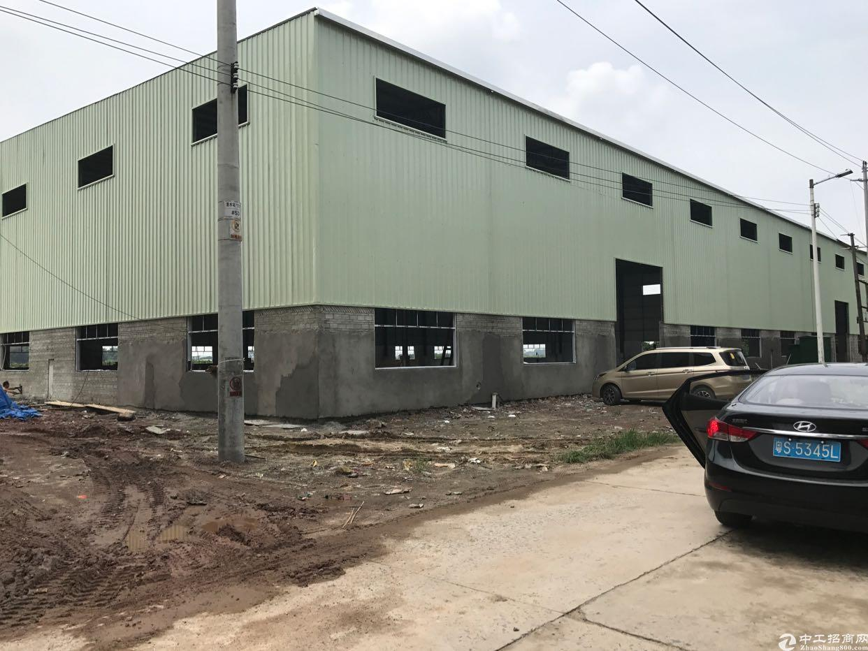 新出在建钢构厂房出租
