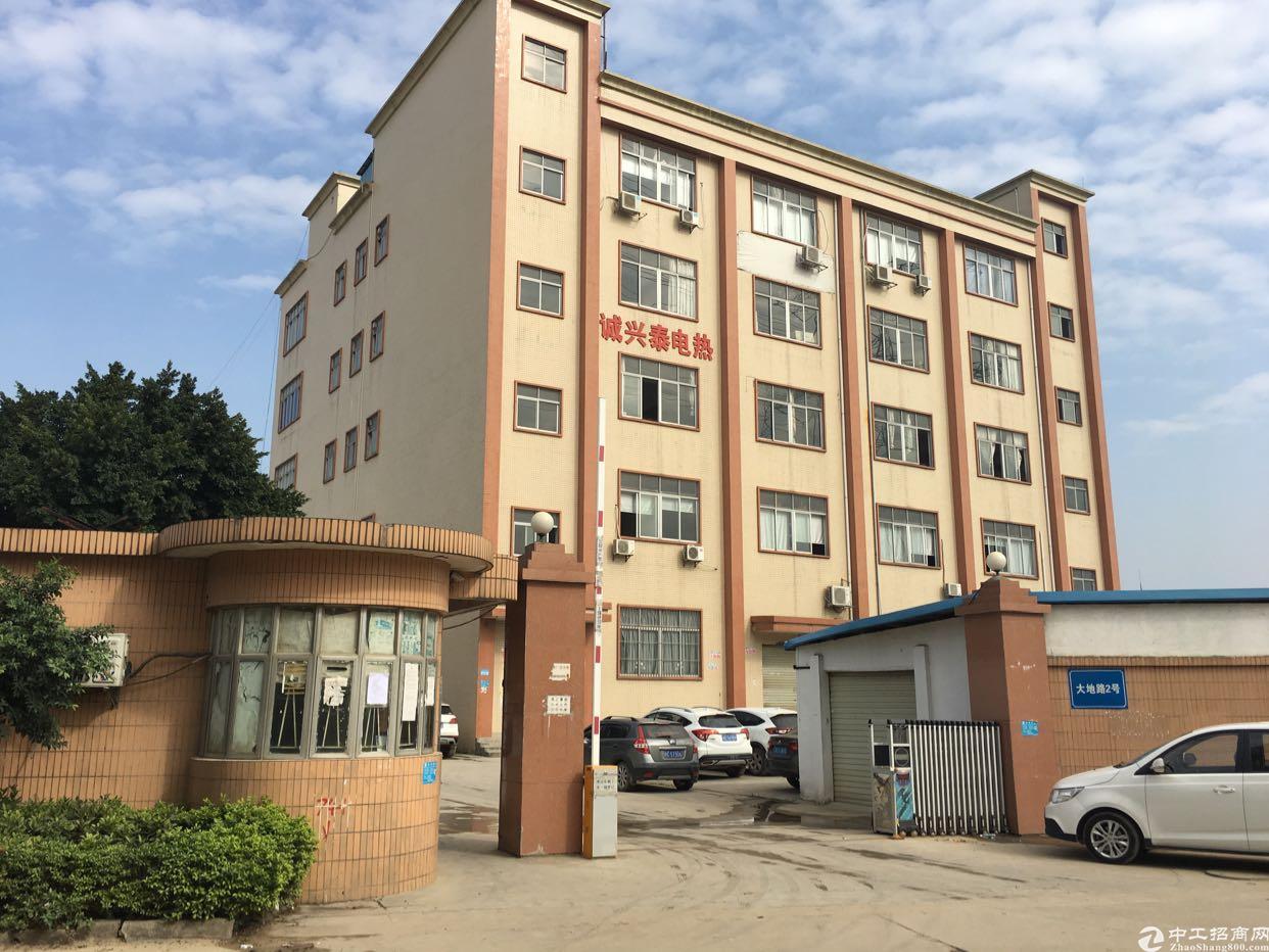 松岗沙浦围地铁口边新出楼上原房东厂房860平方米