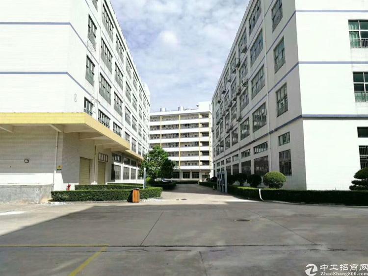 凤岗镇五联科技园无尘车间标准厂房整层5200平方米带水电出租