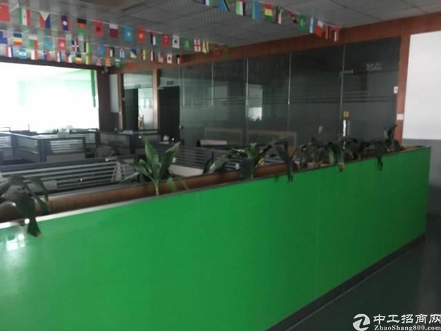 出租福永会展中心精装修办公室十标准厂房2400