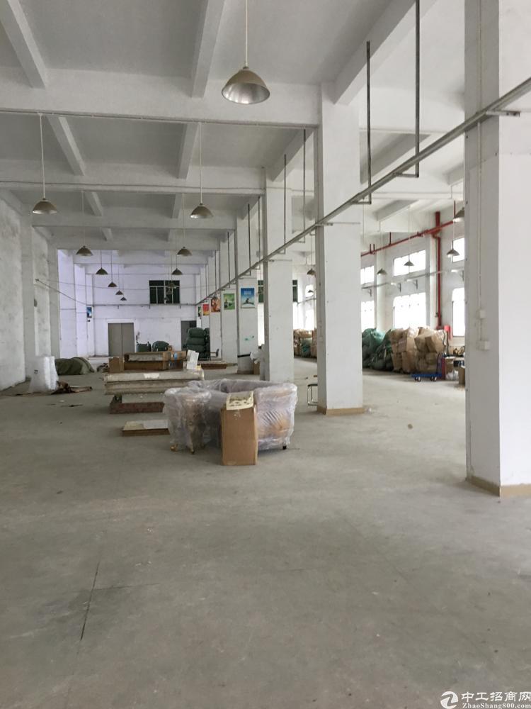 横岗安良原房东一楼800平米厂房出租