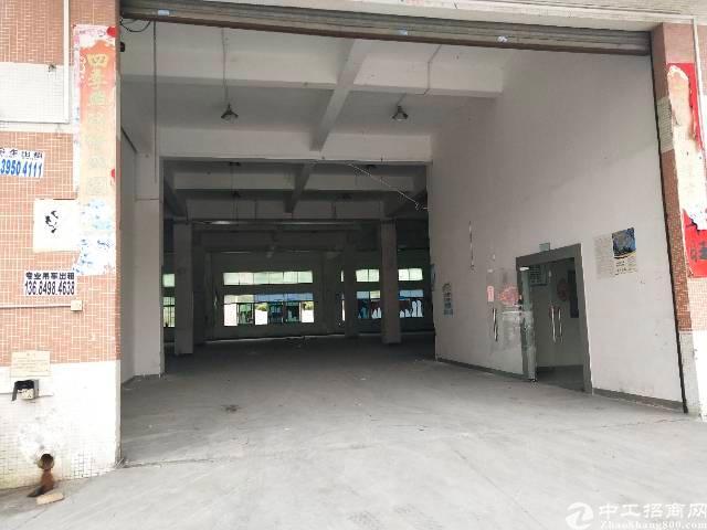 福永宝安大道1楼标准厂房1900平带装修出租