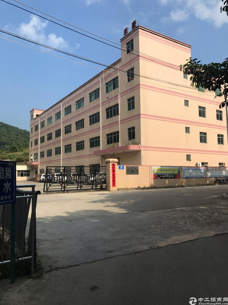 横岗独院厂房原房东面积8920带装修空地大到可以停飞机