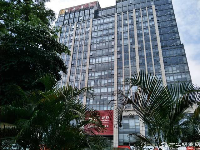 南城地铁站旁高楼层带豪华装修写字楼招租