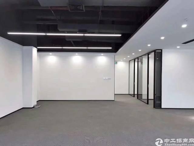 坂田吉华路旁新出全新豪华装修高性价比写字楼大小户型放租