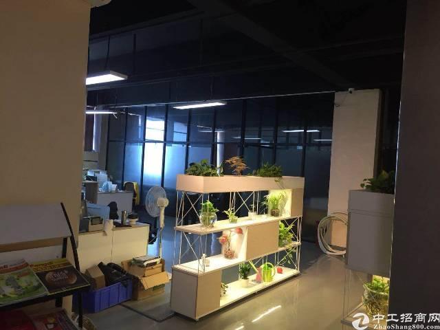 西乡固戍107国道边新出楼上950平带装修稀缺厂房出租