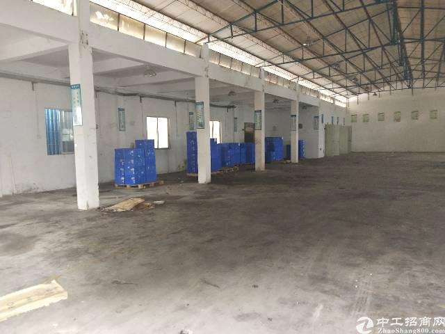 黄江镇靠深圳新空出850㎡钢钩,靠山边可做污染行业!