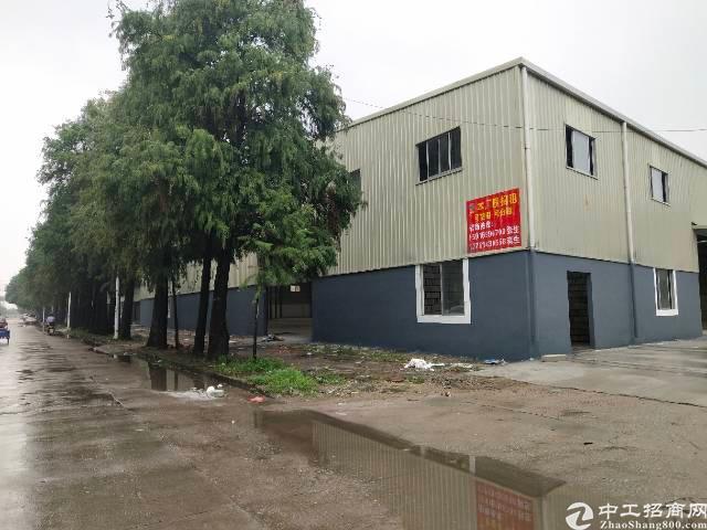 长安镇沿江高速新出全新钢构厂房