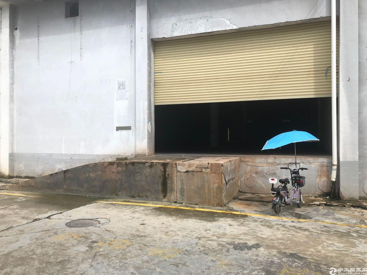 大工业区一楼800平米带卸货平台仓库20出租