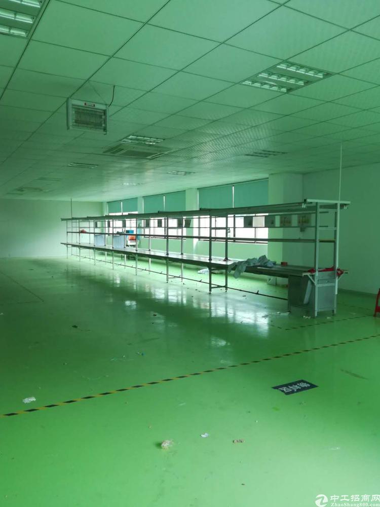 虎门镇带地坪漆可环评1500平米整层分租