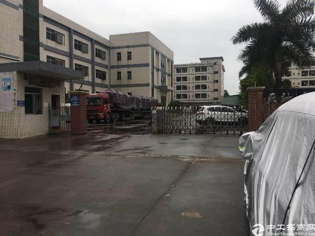常平镇靠大朗独门独院厂房8000平方带水电装修