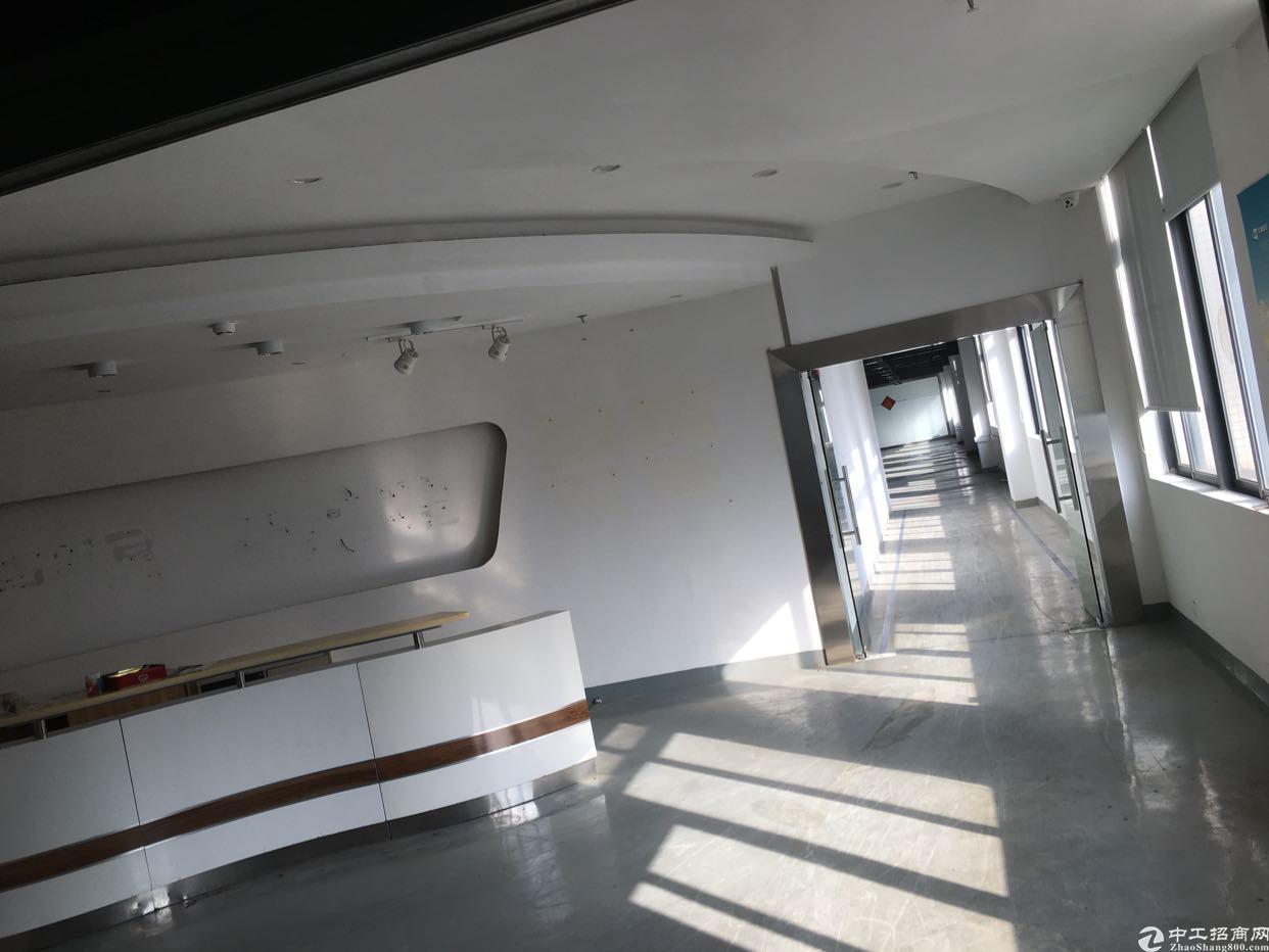 布吉上李朗新出楼上精装修厂房1900平方低价出租