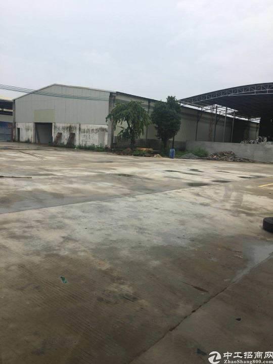 博罗县石湾镇新出钢构厂房出售