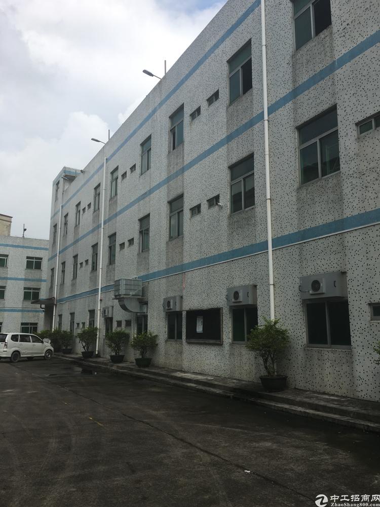 龙岗新生新出楼上1200平方独院厂房实际面积出租无公摊