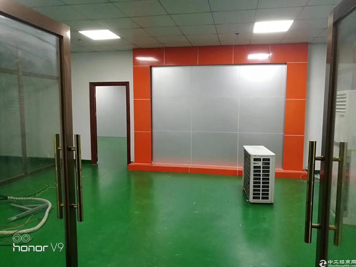 厂房在黄陂前川,面积2000平方,有现成办公室,精装修厂房出-图3