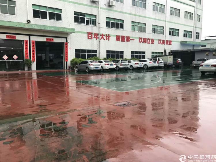 光明新区上村独院厂房4800平,带红本有宿舍空地超大,带装修