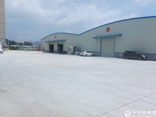 惠阳新圩高速附近独栋钢构2450平方招租