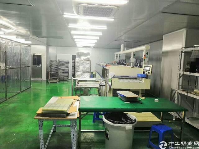 石岩660平无尘车间厂房招租