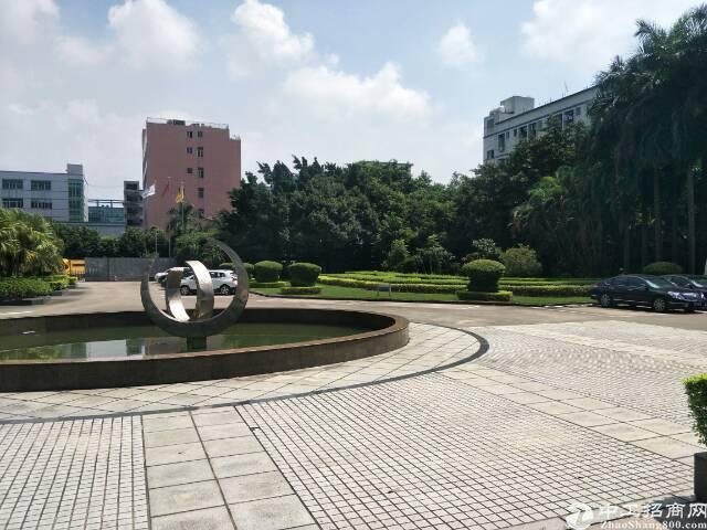 福永塘尾大型独院红本厂房30000平米带环保批文厂房出租