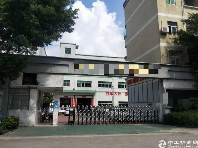 宝安光明公明北环大道边独院厂房5800平方招租