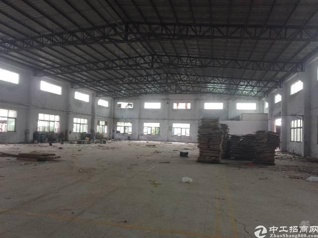 公明塘尾松柏路边独院钢构厂房1350平方出租