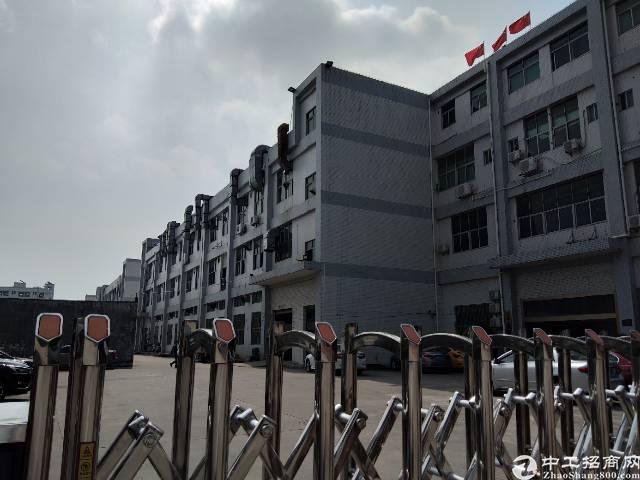 松岗潭头西部工业区二楼实际面积800平方米