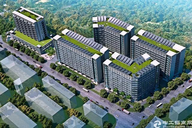 龙岗国际低碳城红本全新整栋厂房32000平米,可分租