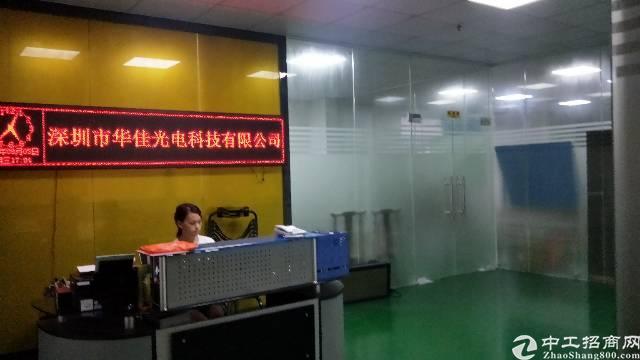 福永桥头一整层装修厂房1200平出租