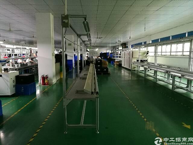 沙井新桥高速出口旁新出2380平米豪华装修厂房出租