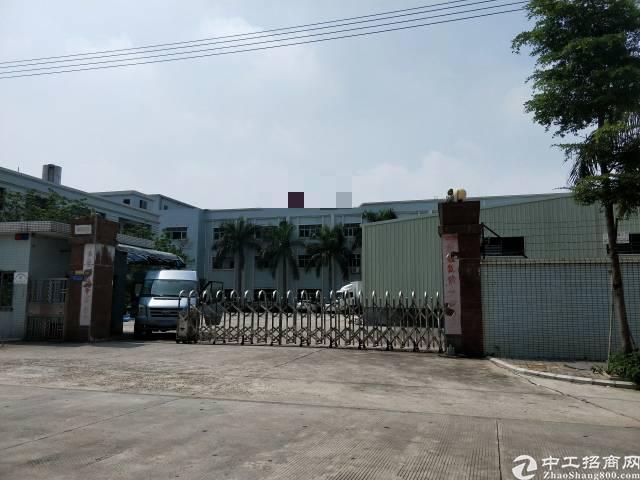 企石镇中心工业区原房东分租楼上1000平方