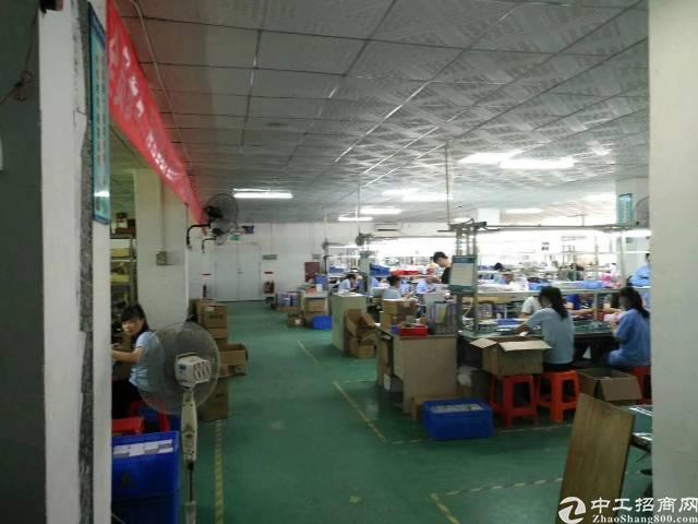鹤州工业区楼上2300平米厂房出租