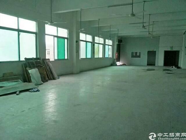 松岗宝安大道旁红星工业区二楼厂房带装修招租