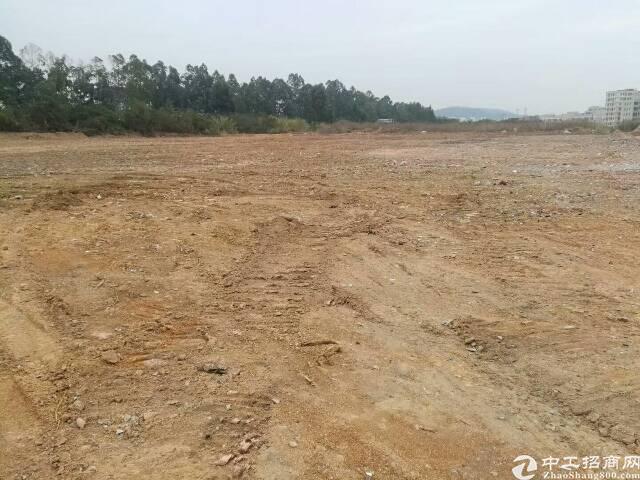 华南城附近新出原房东空地10000平,大小可分租