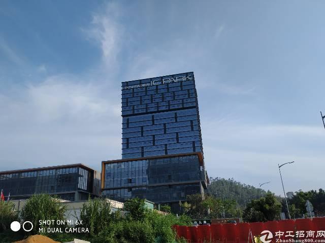 龙岗高新技术园区,带精装修办公楼。租25!
