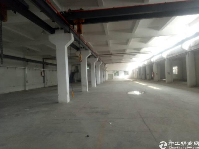 平湖新出2000平一楼带行车标准厂房,近华南城机荷高速