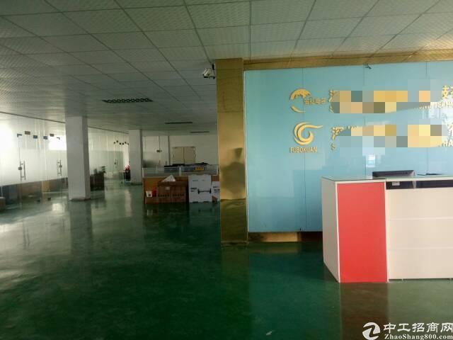 公明实验学校对面精装厂房单层1800平租19