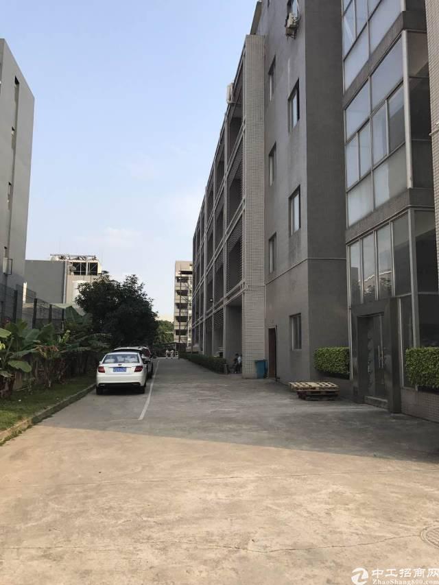 松山湖花园式带红本电子厂分租标准三楼5000m²