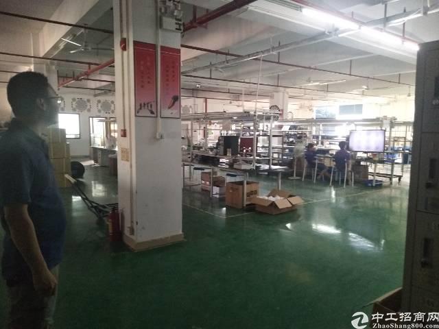 平湖富民工业区带装修一楼1200平方米: