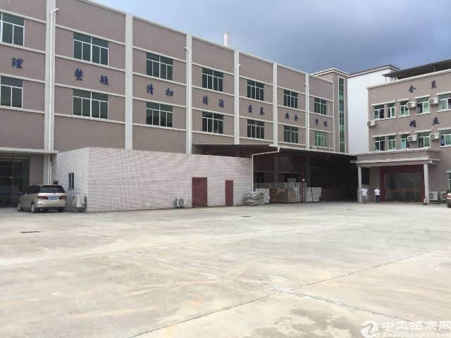 新出平湖华南城附近原房东一二楼各1000平厂房出租
