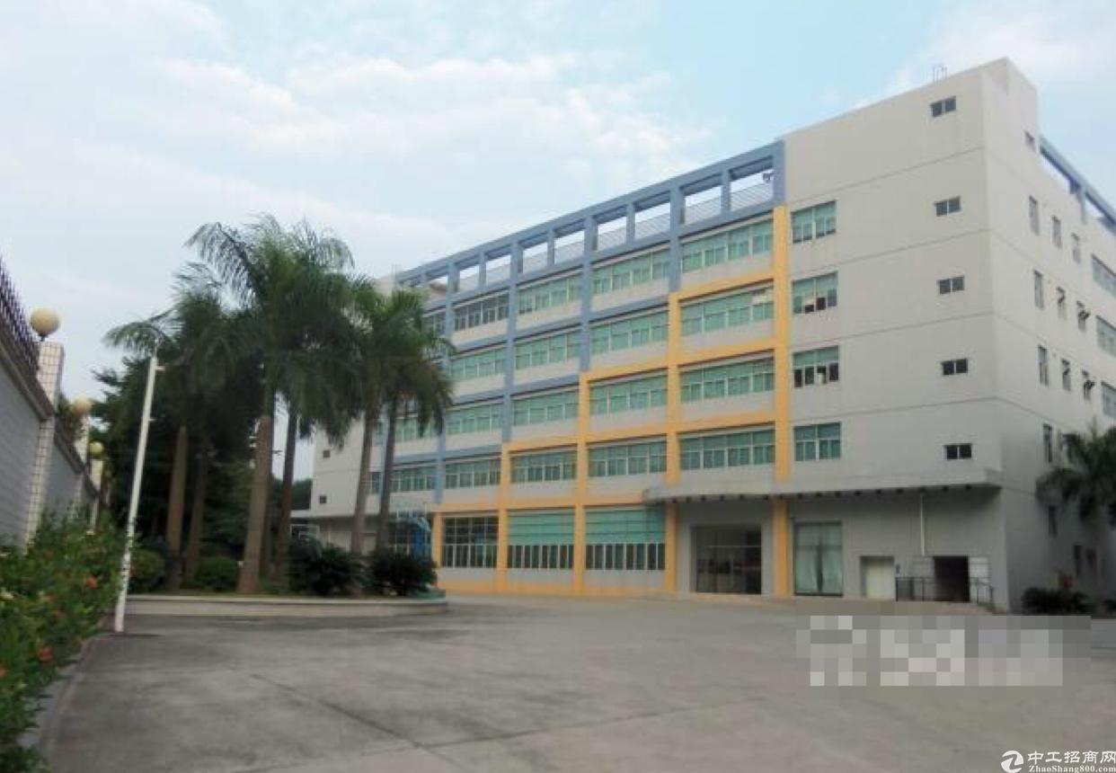 双证东莞塘厦8000平米独院厂房出售