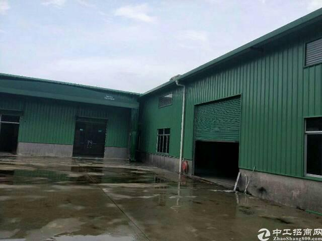 惠州罗阳新出仓库小加了厂房附近无居民可分租两个独栋