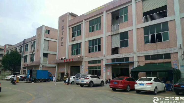沙井后亭新出楼上原房东厂房1300平米,面积实量