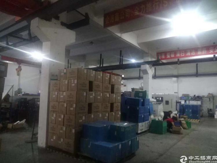 松岗广田路边原房东独院厂房出租2100平米无公摊带行车