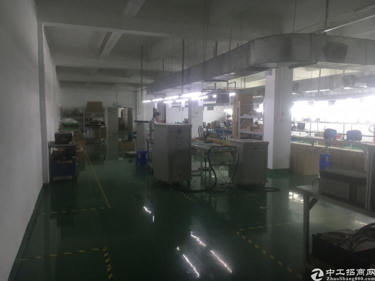 福永和平新出楼上1100平方厂房出租-图4