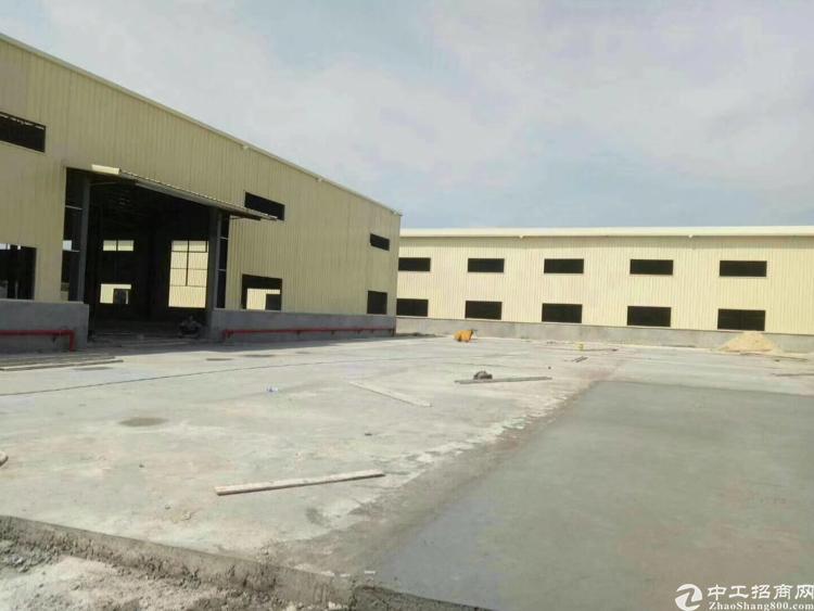 东莞市企石镇钢构独院厂房5500平方出租价格便宜空地大新建