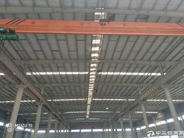 麻涌镇靠广州独院重工厂房层高12米有卸货高台空地大形象好
